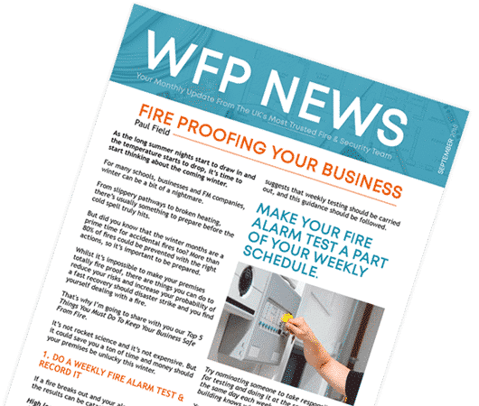 Sign-up for WFP News letter