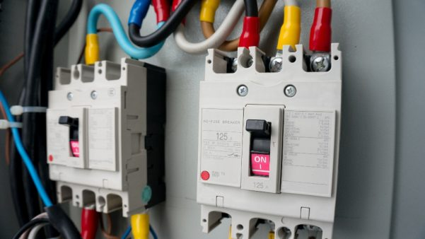 Mains power supply switch