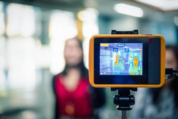 Thermal Body Temperature Measurement Camera